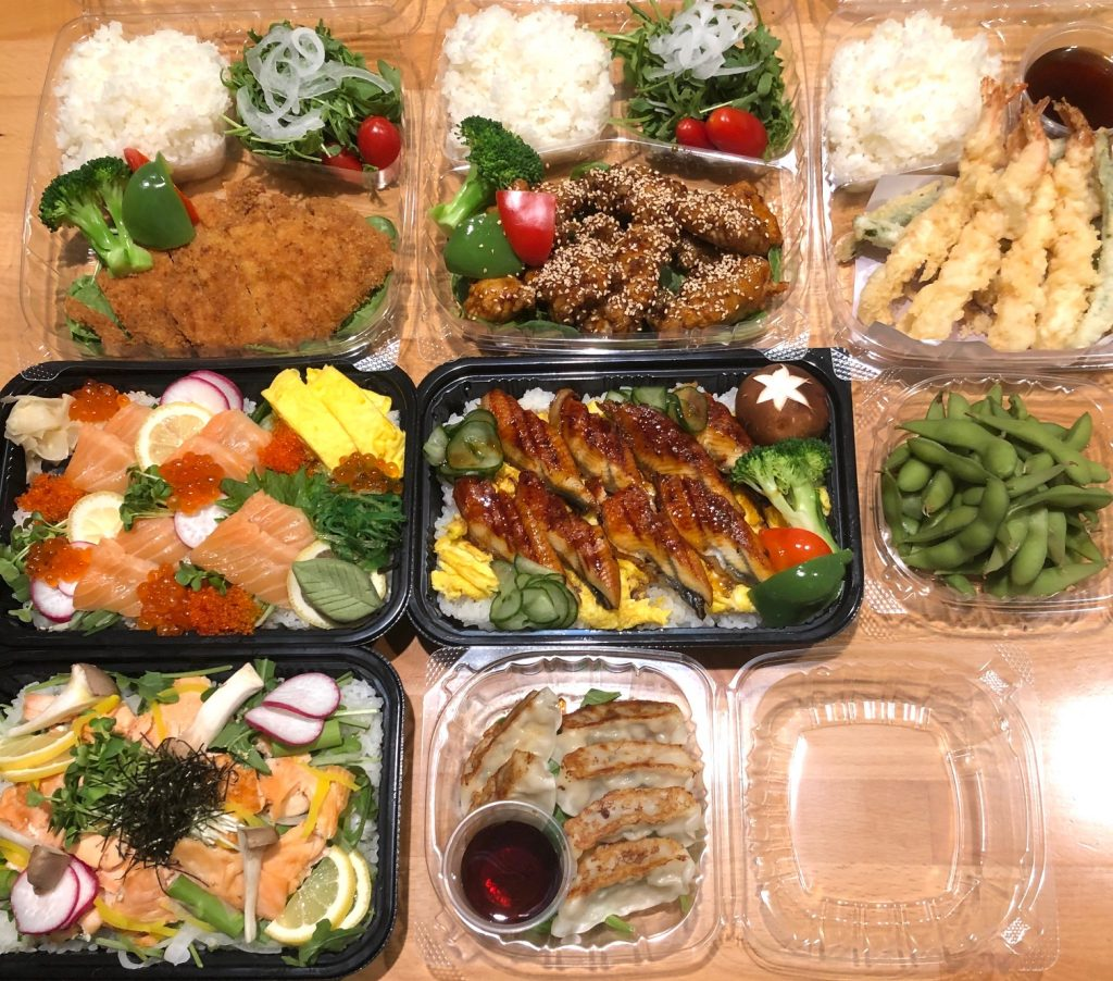 Japanese delivery in SF
